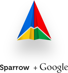 Sparrow, google, accusation